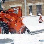 Heavy snow hits NY
