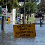 Flood in Victoria