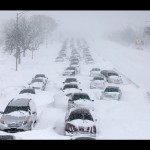 Mammoth Snow Storm hits U.S.