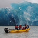 Glacier Breaks Due to Earthquake