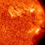 Disruptive Solar Flares