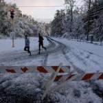 Rare October Snowstorm Hits U.S.