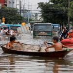Heavy Monsoon Rains Submerge Manila