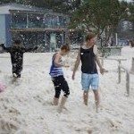 Sea Foam Phenomenon in Queensland