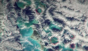 Hexagonal Clouds Debunk Bermuda Triangle Mystery