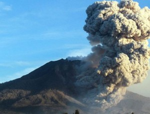 Sleeping Giant Awakes after 400 years: Mount Sinabung Eruption