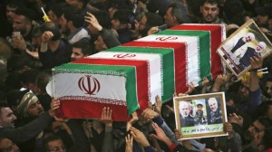 Iranians mourn