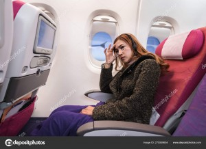airsickness while in flight